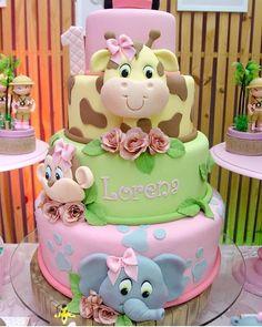 How cute is this baby shower cake? Giraffe Elephant – Kuchendeko – … How cute is this baby shower cake? Giraffe Elephant – Kuchendeko – How cute is this baby shower cake? Giraffe Elephant – Kuchendeko – … How cute is this baby shower cake? Fun Cupcakes, Cupcake Party, Cupcake Cakes, Cupcake Ideas, Baby Girl Cakes, Baby Birthday Cakes, Cake Baby, Birthday Ideas, Rodjendanske Torte