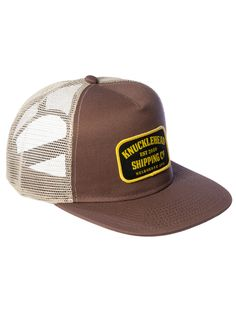 Knucklehead Shipping Company - THE B.T 5 panle snap-back trucker cap