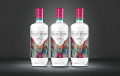Creative Agency: Kingdom & Sparrow  Project Type: Produced, Commercial Work  Client: Tyler-Street  Location: UK  Packaging Contents: Gin  ...