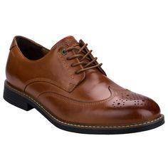 Mens Classic Break Wing Tip Shoes