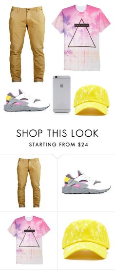 """""""pinky"""" by jayonstewart-js on Polyvore featuring NIKE, Univibe, 21 Men, Native Union, men's fashion and menswear"""