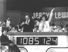 The Jerry Lewis Muscular Dystrophy Association Telethon was televised every Labor Day weekend for years.