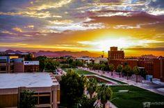 #Sunset #universityofarizona #Tucson #az #arizona #campus