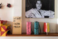 Conheça a casa de Regina Casé em Salvador (Foto: Lufe Gomes)