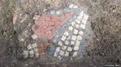 Part of Roman mosaic