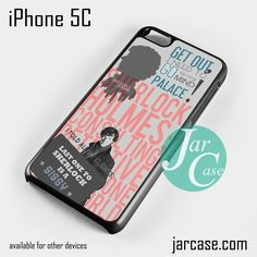 sherlock Phone case for iPhone 5C and other iPhone devices