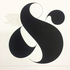 Logo for Ampersand Productions. Herb Lubalin with Tom Carnase's lettering, 1972. Avant Garde in the smaller type.