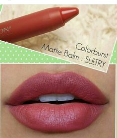 Revlon ColorBurst Matte Balm in Sultry - Make-up Revlon Matte Balm, Revlon Colorburst Matte Balm, Revlon Nail Polish, Sultry Makeup, Skin Makeup, Makeup Swatches, Drugstore Makeup, Revlon Lipstick Swatches, Up Dos
