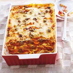 23 januari - Runderbraadworsten in de bonus - Recept - Italiaans-Amerikaanse lasagne - Allerhande