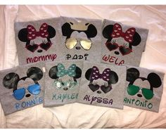 A personal favorite from my Etsy shop https://www.etsy.com/listing/515949491/disney-family-shirts-glasses-custom