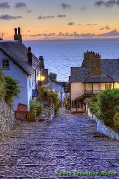 "followthewestwind: "" (via Clovelly England a Pathway To The Sea One of My Most Favourite Places In The Whole Wide World 