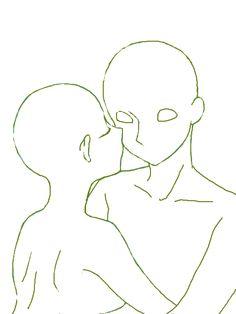 抱き着いてキス