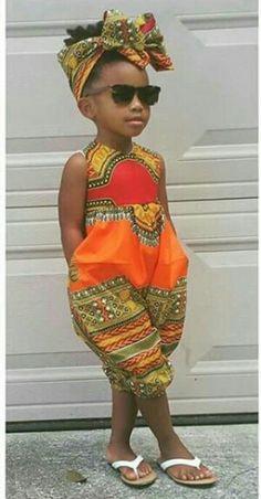 Dashiki Romper ~ African fashion, Ankara, kitenge, Kente, African prints… More Más African Print Dresses, African Print Fashion, African Fashion Dresses, African Attire, African Wear, Fashion Prints, African Prints, African Style, Africa Fashion