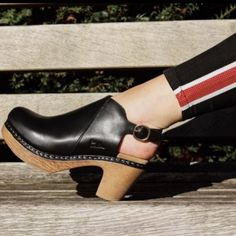 9c7694d13fbb Have you seen our Tyra clogs yet  A slingback on a soft sole available in  black and brown!