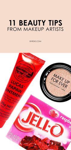 11 makeup artists share their best makeup hacks