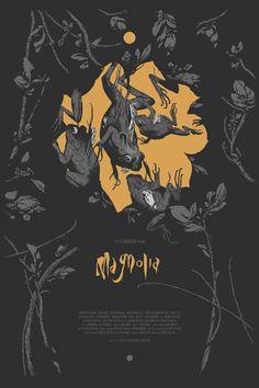 Magnolia Poster by Joao Ruas