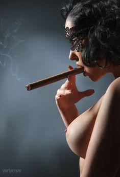 cigar women