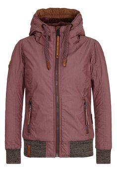 Naketano Echte Lutschkultur in Aubergini - Women's Jacket