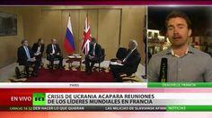 La crisis en Ucrania acapara las reuniones de los líderes mundiales en F...