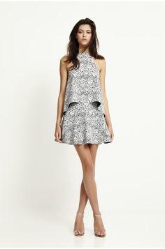 Bec &  Bridge top and skirt