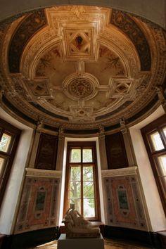 Castillo de Schwerin: Luego está la espléndida galería ancestral, el comedor decorado con paneles de intrincada y la habitación de la torre redonda, diseñado como un salón de jardín, que ofrece una vista panorámica del lago.