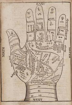 woodcut hand