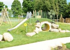 Image result for faux hollow log for playground