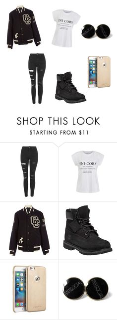 """""""Untitled #152"""" by skirmantesatkute on Polyvore featuring Topshop, Ally Fashion, Opening Ceremony and Timberland"""