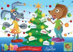 Het is weer zover... het is tijd om de Kerstboom te versieren en Kerstkaartjes te schrijven.  Stuur je eerste kaartje met je eigen foto en naam en wens iedereen een Prachtige Kerstmis! (http://spelletjes.ik.be/kaartje/kerstmis.html)
