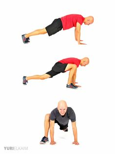 Dynamic Warm-up Exercises - Frog Walk-in