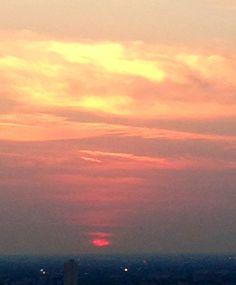 Chicago Summer sunset ..