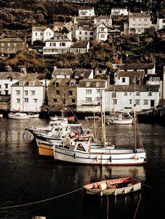 Looe Harbour, Cornwall, UK