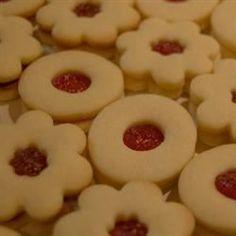 Sugar Free Sour Cream Linzer Cookies