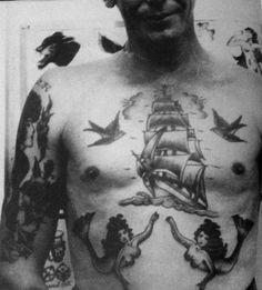 Classic Nautical chest piece