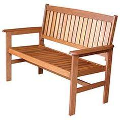 Greenfingers Loreto Balau 2 Seater Bench W120 x H885cm on Sale
