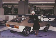 Porsche Murene (Heuliez), 1970 - Paris Motor Show'70