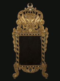 Carlton Hobbs LLC, A magnificent and extremely rare mirror bearing the arms of the Ottoman Empire, made during the reign of Muhammad Ali Pasha