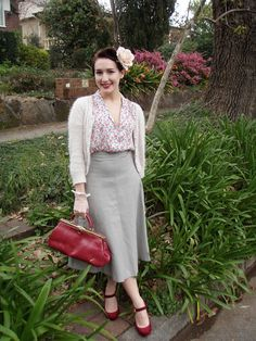 Why haven't 40's hemlines come back into style??