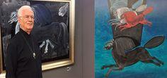 Ünlü Ressam Köftecideki Tabloları İçin Ne Dedi? http://724kultursanat.com/suleyman-saim-tekcan-atnagme/  #süleymansaimtekcan #at #tablo #paint #ressam #resim #724kultursanat