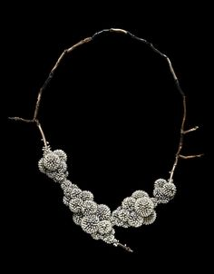 'Frozen' necklace by Sam Tho Duong 2011 · inspired by the effect of frost on natural forms