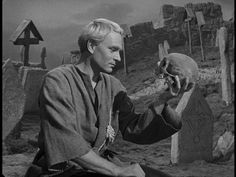 Laurence Olivier and Yorick