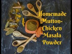 How to make Meat Masala-Best Chicken Curry Masala - Kali Mirch - by Smita Chicken Masala, Chicken Curry, Jackfruit Curry, Masala Powder Recipe, Cauliflower Curry, My Cookbook, Coriander Seeds, Some Recipe, Small Flowers