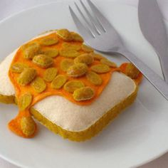 Beans on Toast - Felt Food £5.00                                                                                                                                                             London, here you come!