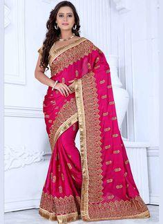 Pink Wholesaler For Valentine Special Sarees Collection @ http://www.suratwholesaleshop.com/sarees?view=catalog   #Pinksarees #Wholesaler #Bulk #Sarees