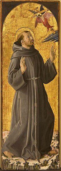 Religious Icons, Religious Art, St Francisco, Francis Of Assisi, Catholic Art, Patron Saints, Madonna, Image, Wikimedia Commons