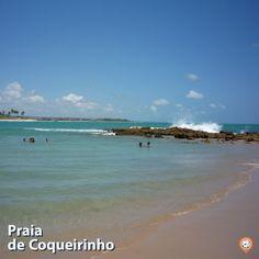 Chamar de paraíso seria exagero? tochegando.tur.br/ Paraiba, Beach, Water, Outdoor, Littoral Zone, Tips, Gripe Water, Outdoors, The Beach