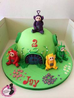 Teletubby cake