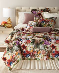 Laila Bedding by Sherry Kline Home at Neiman Marcus.