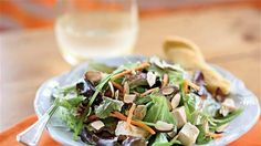 Lighter Asian Chicken Salad