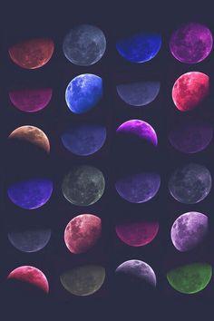 iPhone 5,6 Wallpaper - moon